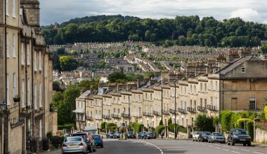 A photo of Somerset town